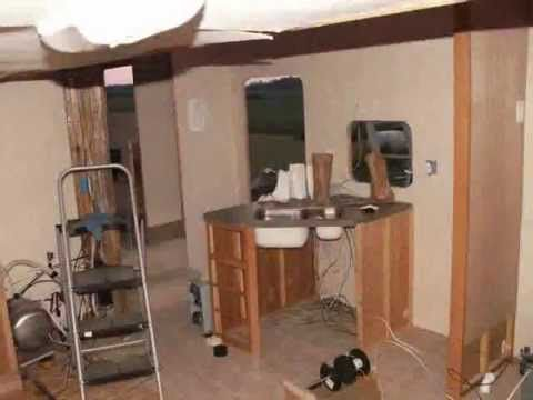 How To Build A Homemade Rv Camper With Slide Out This Is Cool From The Finished You Would Never Know It Was Homemade Camper Camper Trailers Diy Rv