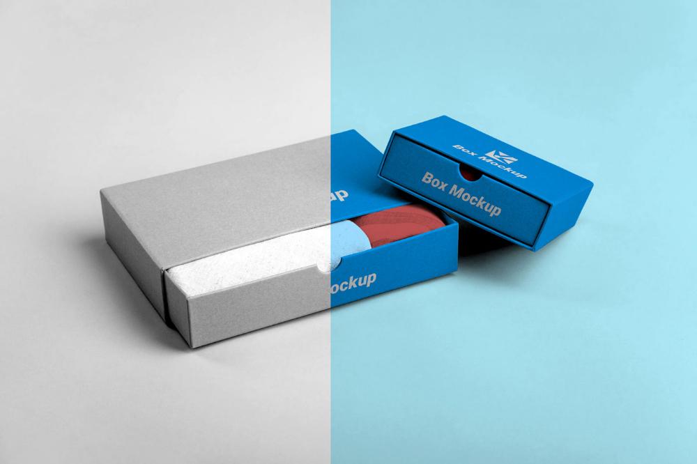 Download Free Handkerchief Tie Box Mockup Free Package Mockups Box Mockup Tie Box Free Packaging Mockup