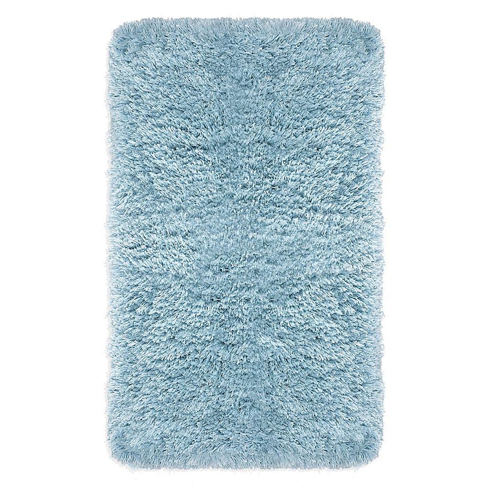 Imperial Shaggy 24 X 40 Bath Rug In Spa Blue In 2020 Blue