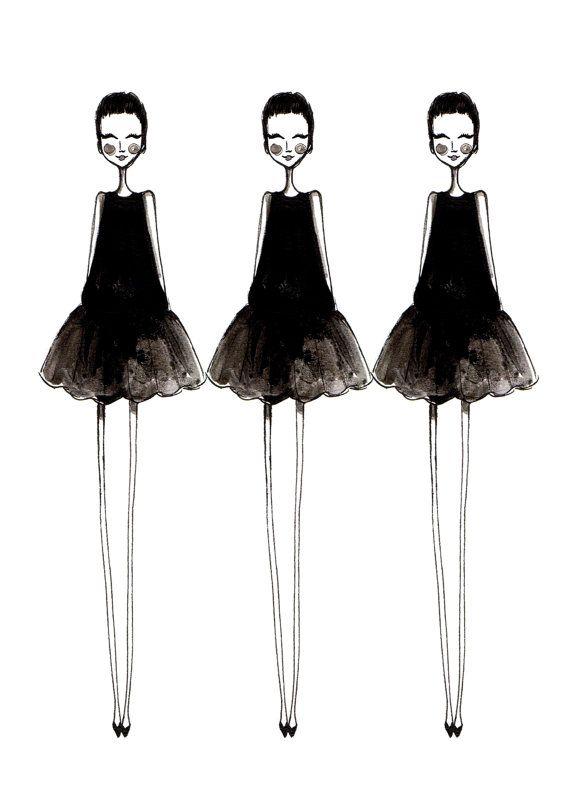 Little Black Dress Sketch