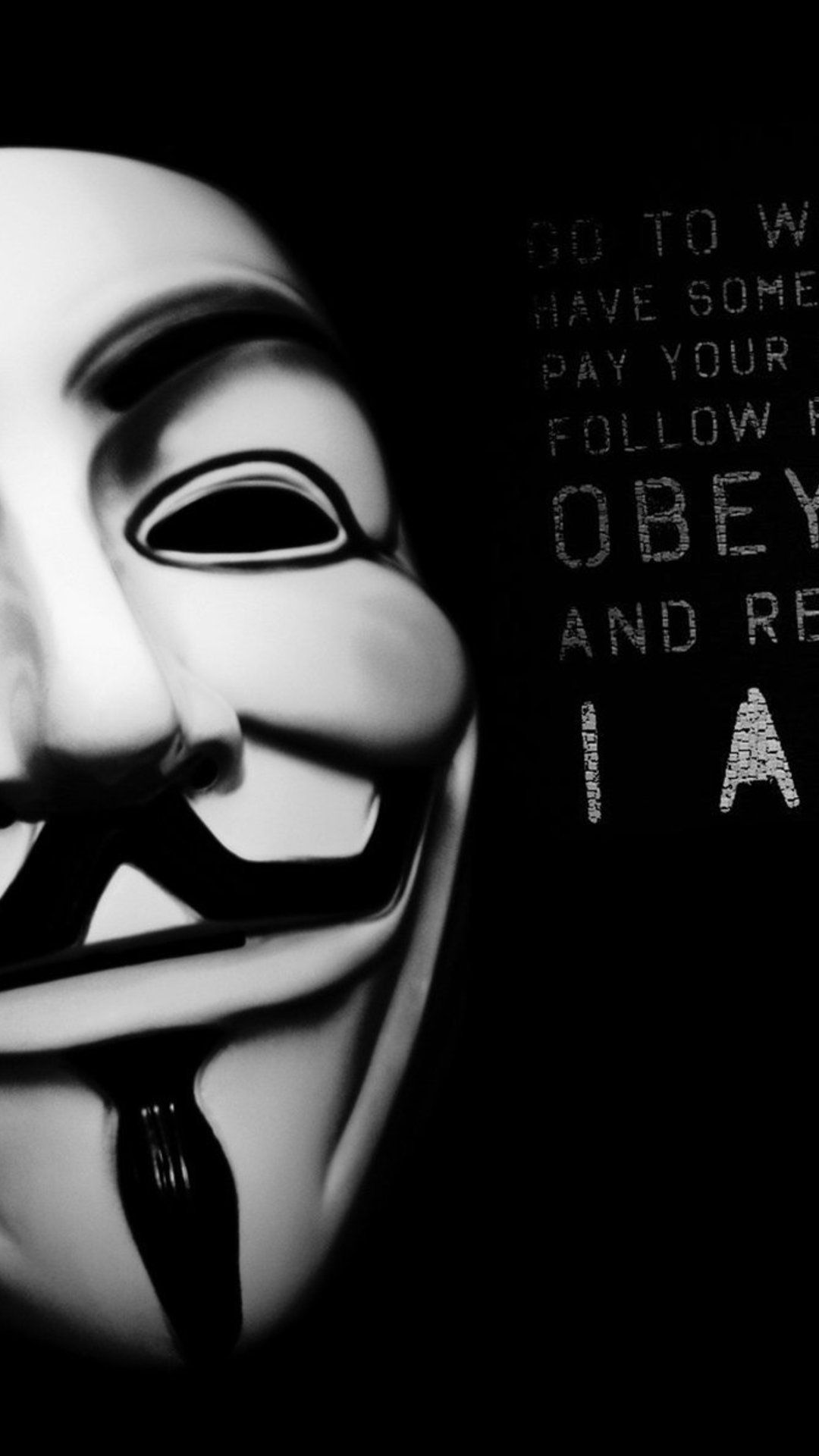 Anonymous Full HD Wallpaper for Iphone.