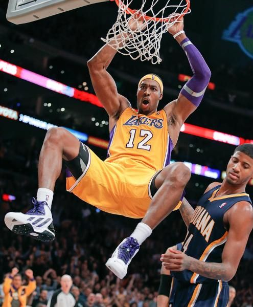 Los Angeles Lakers' Dwight Howard