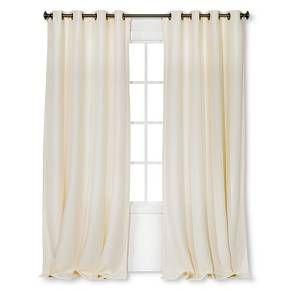 Threshold Basketweave Curtain Panel Target Panel Curtains