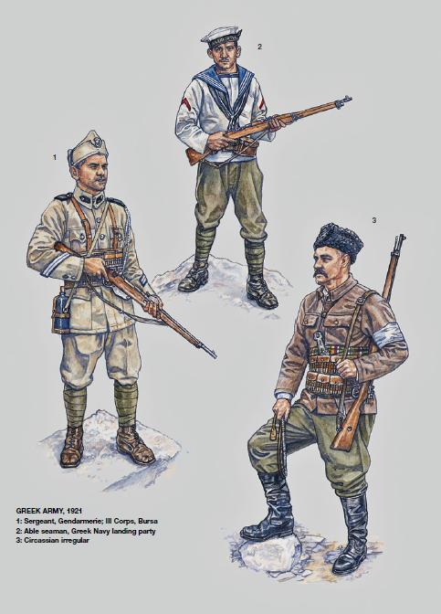 Greek Army 1921 GALERIA WOJOWNIKÓW! (starożytność - XXI wiek