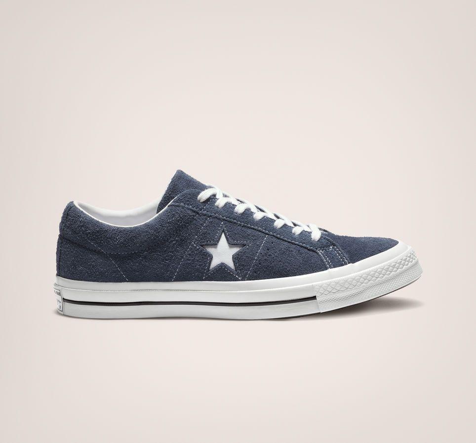 One Star Vintage Suede Low Top Navy