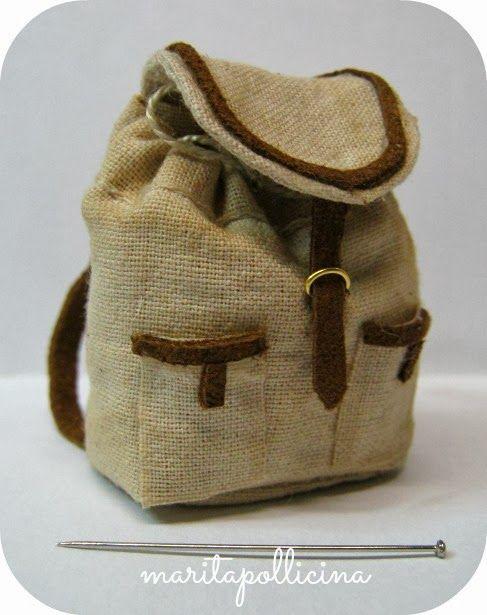 mini backpack-Pollicina's Cupboard