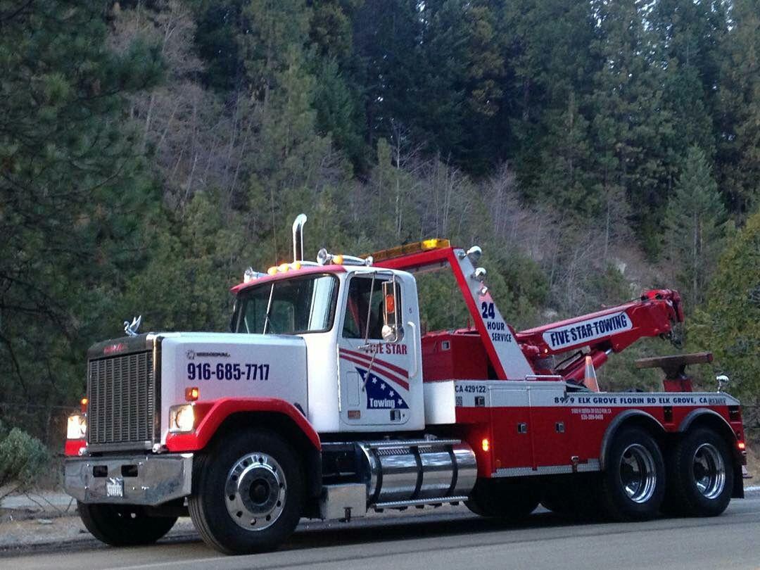 Gmc 5 Star General Wrecker Tow Truck Trucks Model Truck Kits