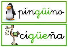 Ortografia Palabras Con Gue Gui Güe Y Güi Palabras Con Gue Gui Lectura De Palabras Actividades De Letras