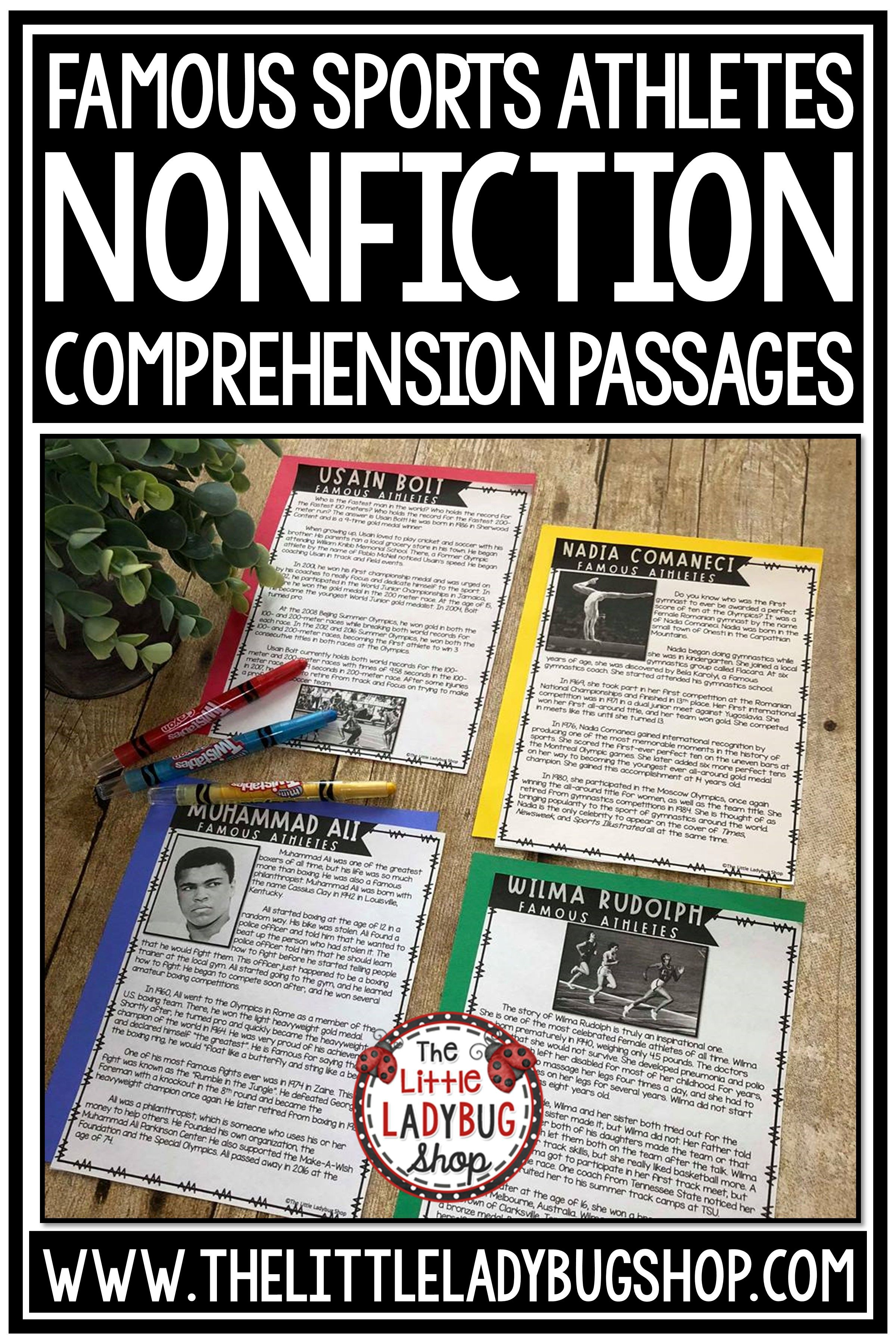 Sports Theme Digital Nonfiction Reading Passages 4th Grade 3rd Grade Nonfiction Reading Passages Reading Passages Nonfiction Reading [ 3600 x 2400 Pixel ]
