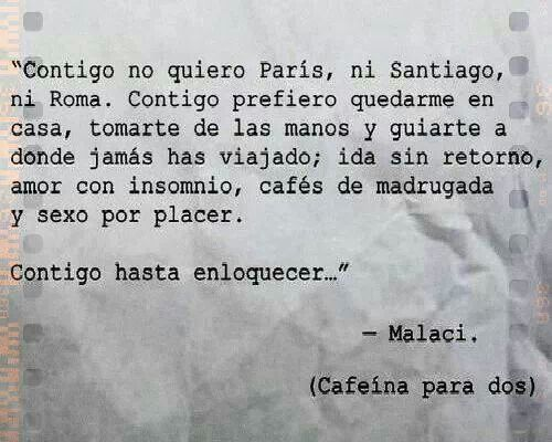 cafeina para dos libro malaci
