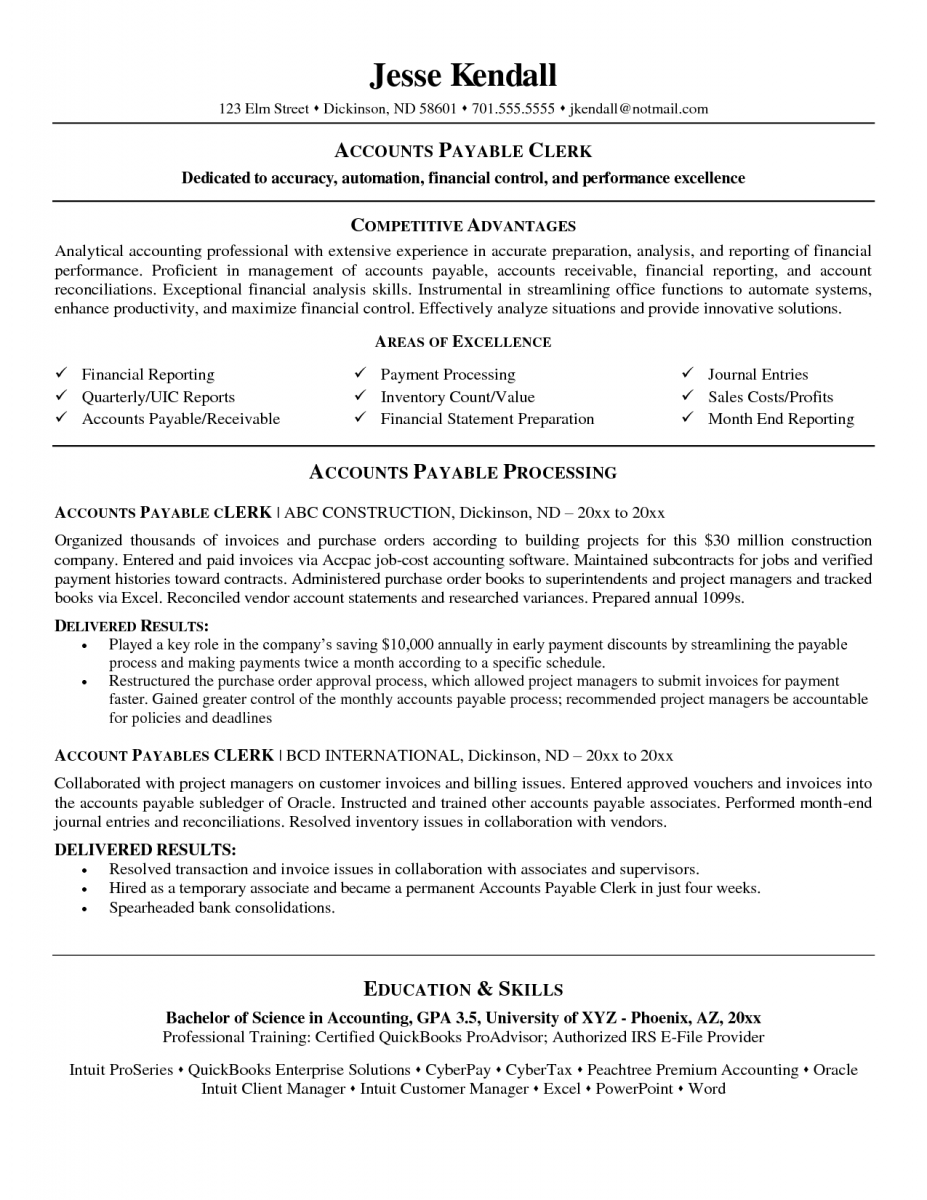 entry level accounting resume objective exles entry level accounting ...