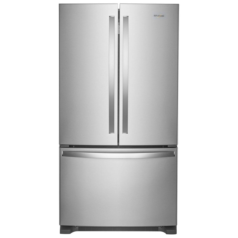"Whirlpool 36"" Counter Depth French Door Refrigerator w Water"
