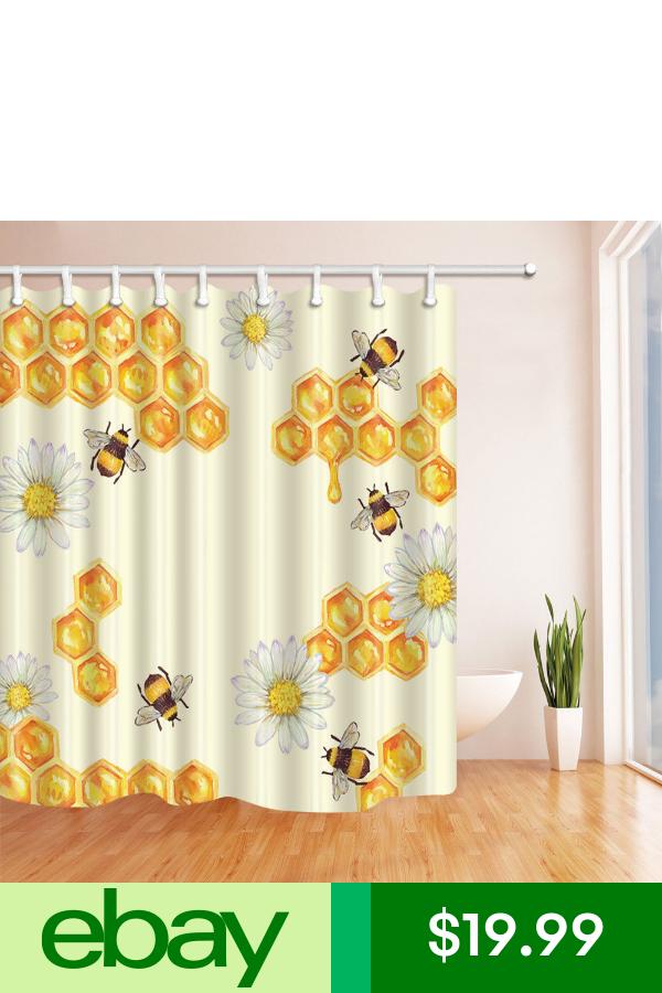 Ebayshower Curtains Liners Home Garden Honey Decor Shower