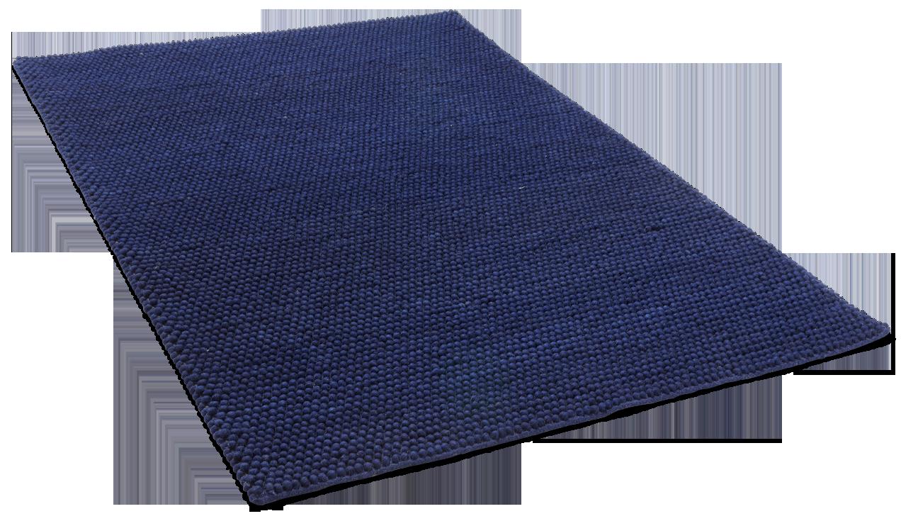 NIRVANA-villamatto 140 X 200 cm sininen. Koiran alle sininen matto, kudottu, suomalainen, koiraystävällinen. Sininen.