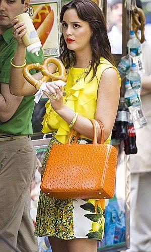 Leighton Meester in Gossip Girl Season Five