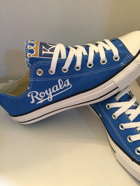 817565ea0570ba Kansas city royals mens converse tennis shoes by sportzshoeking