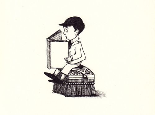 The Big Green Book: Robert Graves and Maurice Sendak's Little-Known and Lovely Vintage Children's Book About the Magic of Reading | Brain Pickings