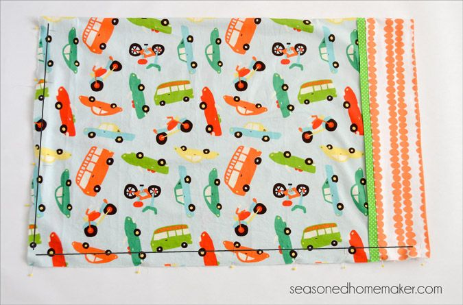 Burrito Style Pillowcase How To Sew A Pillowcase  Burrito Style  It Is Easiest And Make