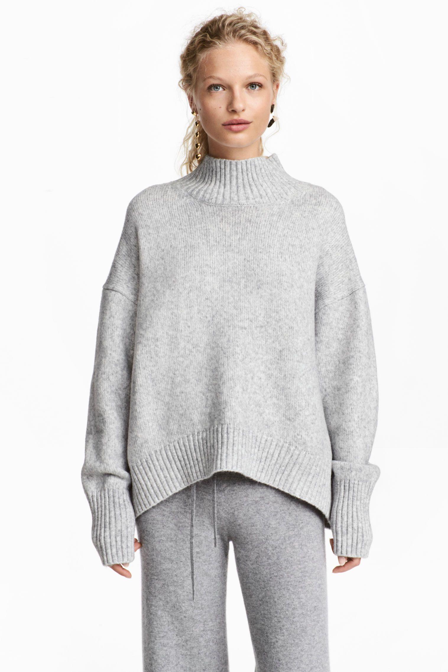 Jersey de punto y cuello alto | fall trends 17 | Pinterest ...