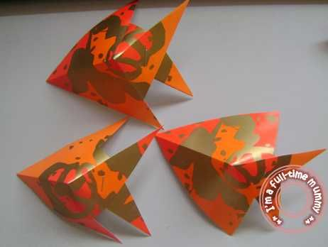 Cny craft - Fish from ang pow | Chinese new year ...