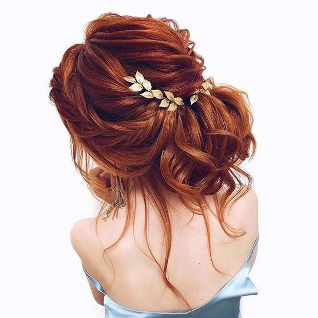 23 Evergreen Romantic Bridal Hairstyles: Read More About Diy Bridal Hair #bridalhairstylestyle