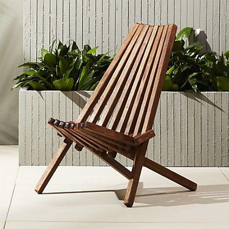 cb2 patio furniture. Maya Wood Outdoor Chair | CB2 Cb2 Patio Furniture R