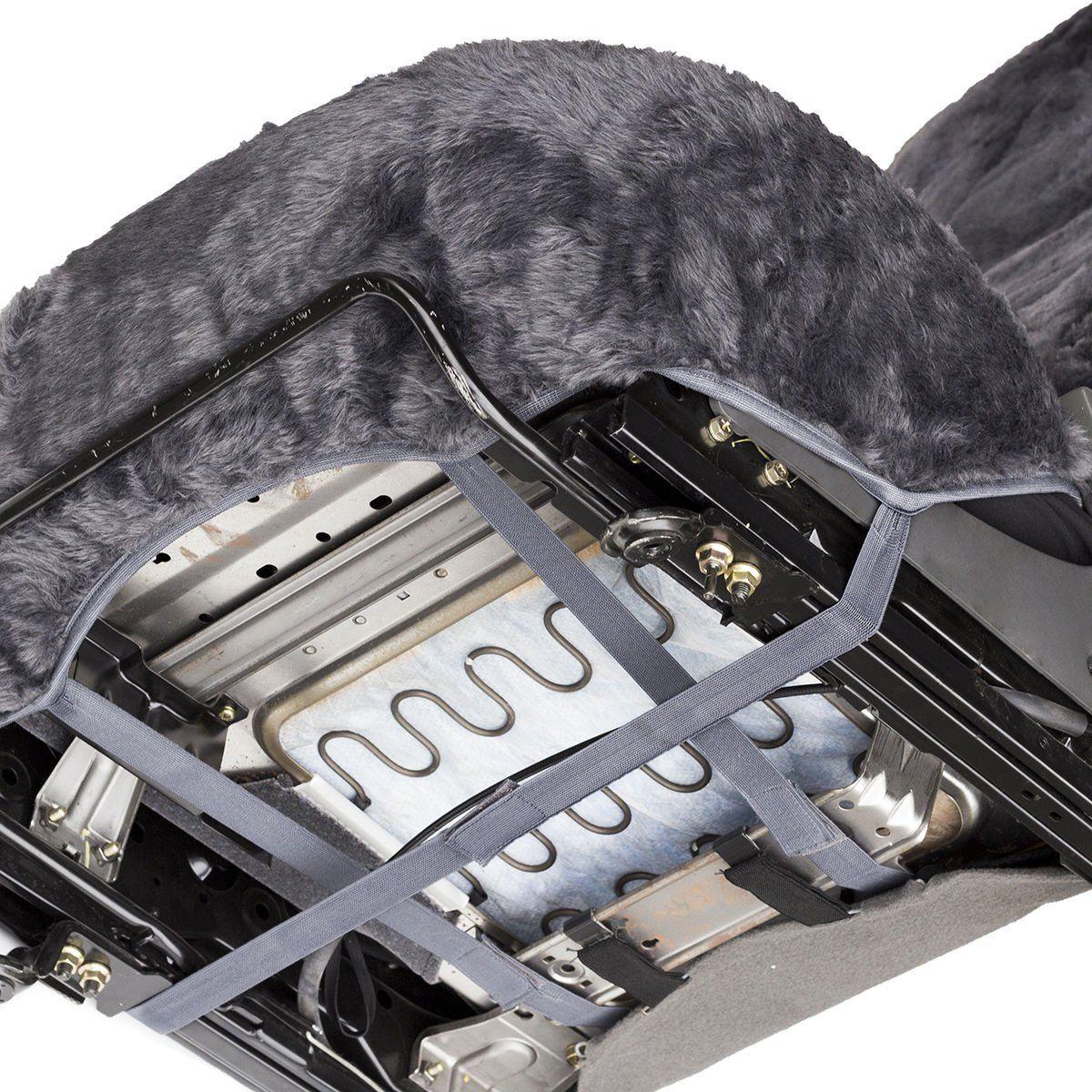 Car Seat Covers Sheepskin 2pc Set Real