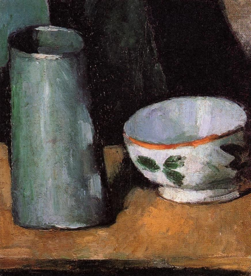 유 Still Life Brushstrokes 유 Nature Morte Paintings - Cezanne