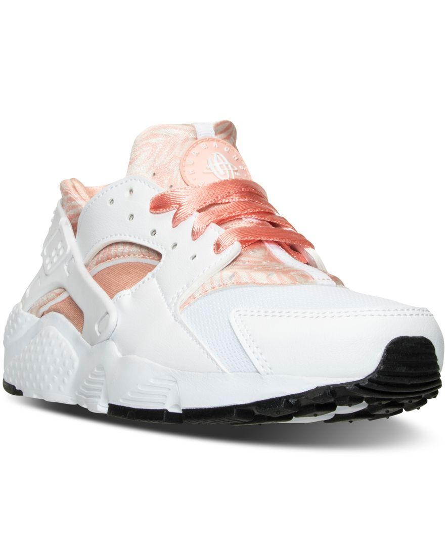 5ebc7802f2 Nike Big Girls' Huarache Run Running Sneakers from Finish Line ...
