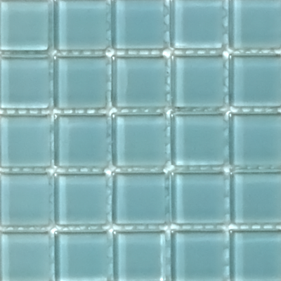 This blue has me dreaming of perfect cloudless days. Would be gorgeous in any bathroom. Mediterranean 137 - Kids Bath Creations #tile #bathroom #TileOfTheDay