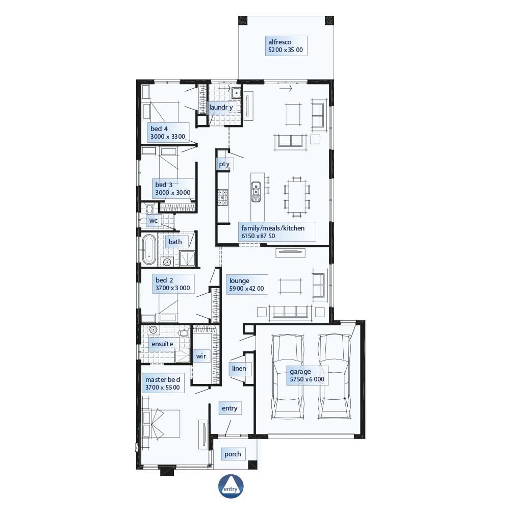 Home Design By Simonds Homes Vic In Vic Leon