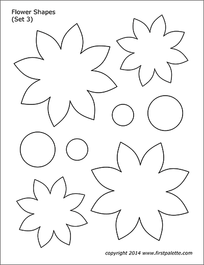 photo relating to Free Printable Flower Applique Patterns identified as Flower Designs Free of charge Printable Templates Coloring Webpages
