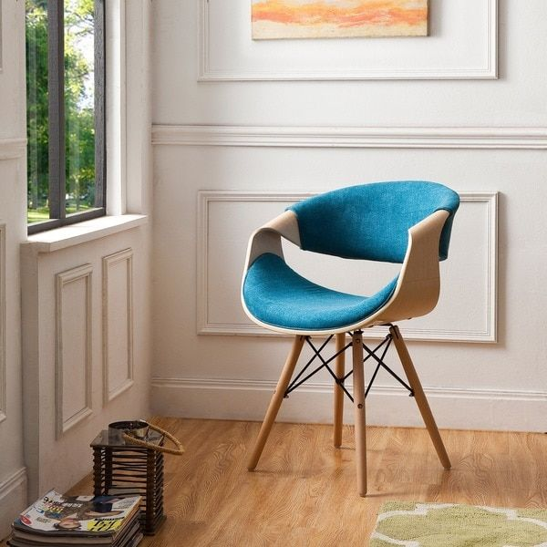 Awesome Corvus Adams Contemporary Teal Blue Velvet Accent Chair Gamerscity Chair Design For Home Gamerscityorg