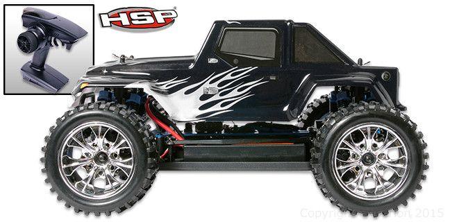 Brontosaurus Monster Jeep 1/10 RTR Pro ブラシレスモーター付きモデル #HSP #RC #ラジコンカー #モンスタートラック #ホビー #クリスマス #プレゼント