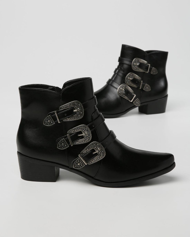 Bota Cano Curto Fivelas - Riachuelo   boots. em 2018   Pinterest ... 889c275b22