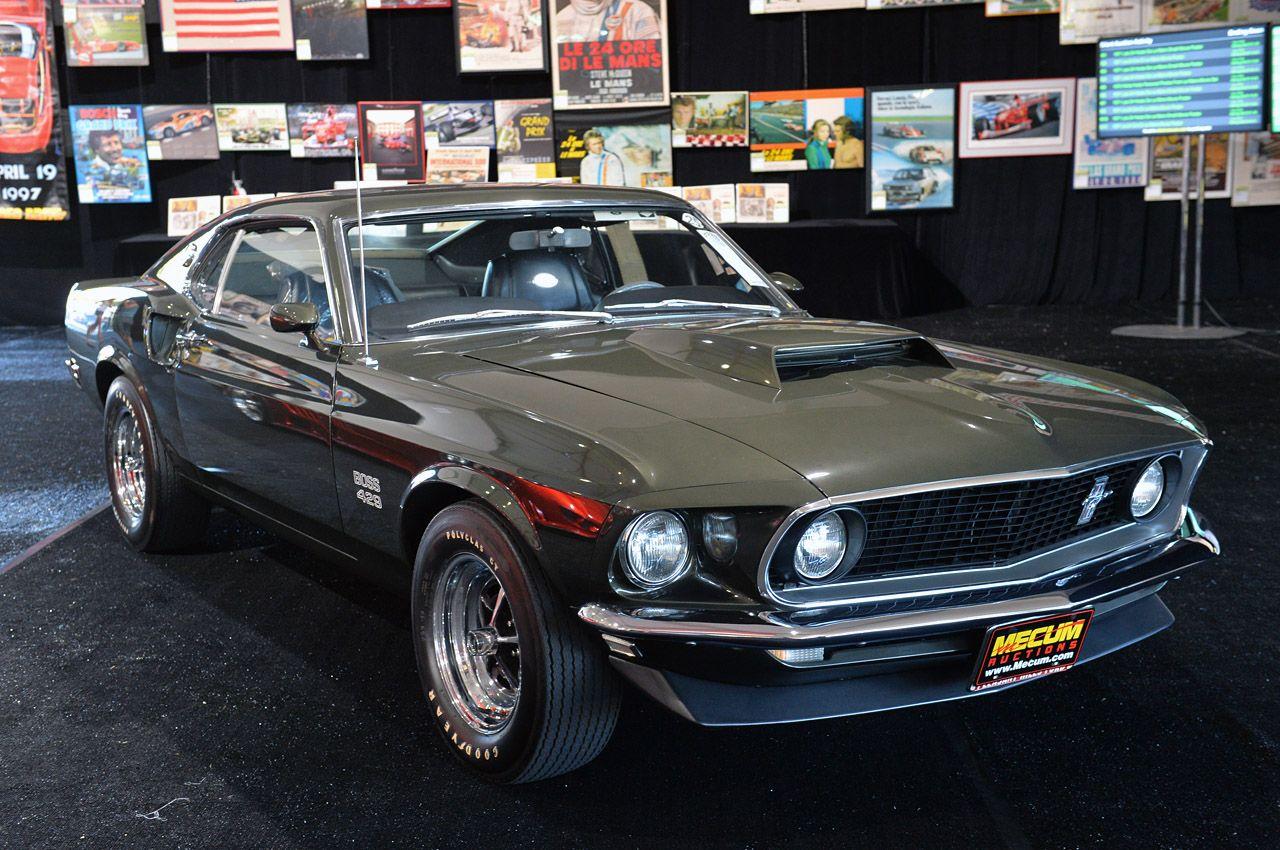 Superb black on black 1969 mustang boss 429 kk mustang boss cars and ford mustang
