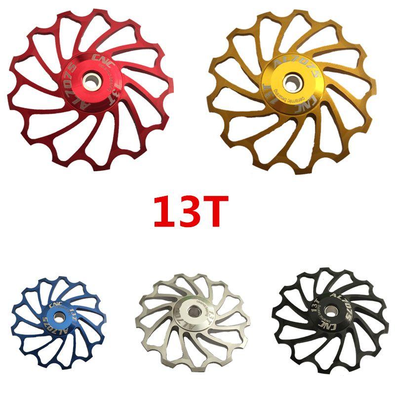 Useful Gear Guide Pulley Bike Aluminium Alloy Wheel Rear Derailleur Pulley Newst