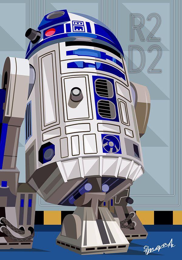 R2 D2 Star Wars Star Wars Pictures Star Wars Poster Star Wars Art