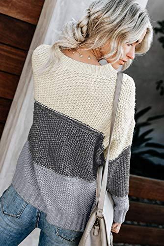 ZESICA Women's Turtleneck Sweaters Long Batwing Sleeve