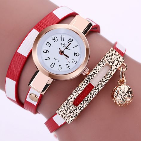 a0917ed6535 Duoya Leather Luxury Women s Watch