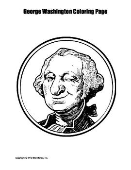 George Washington Coloring Page Bundle Coloring Pages