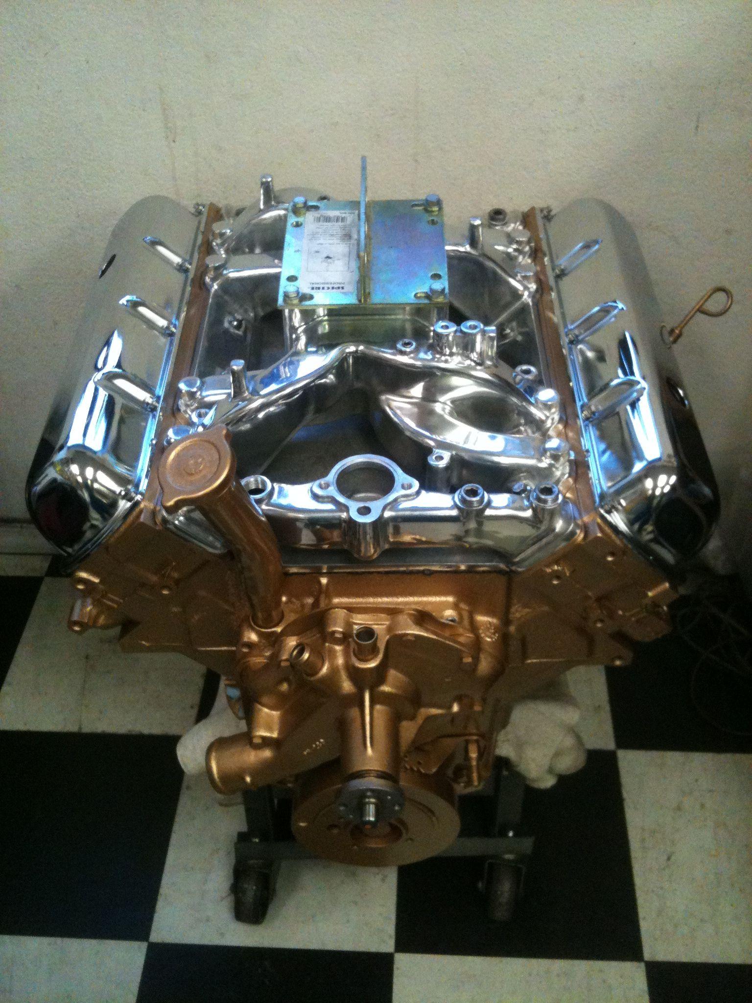 Total Rebuild On Oldsmobile 455 Engine Custom Motors
