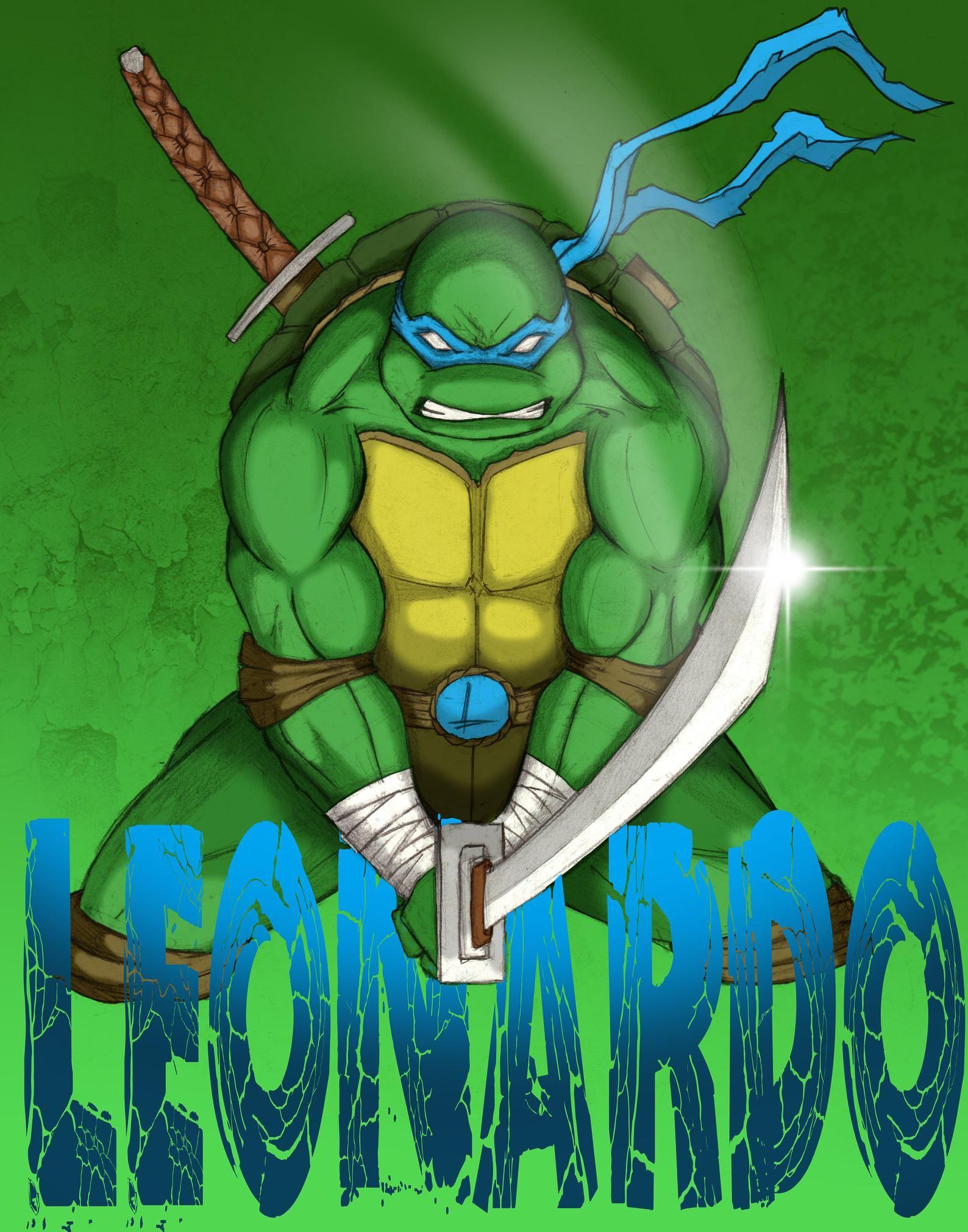 Leonardo Poster In 2021 Teenage Mutant Ninja Turtles Artwork Ninja Turtles Artwork Teenage Mutant Ninja Turtles Art