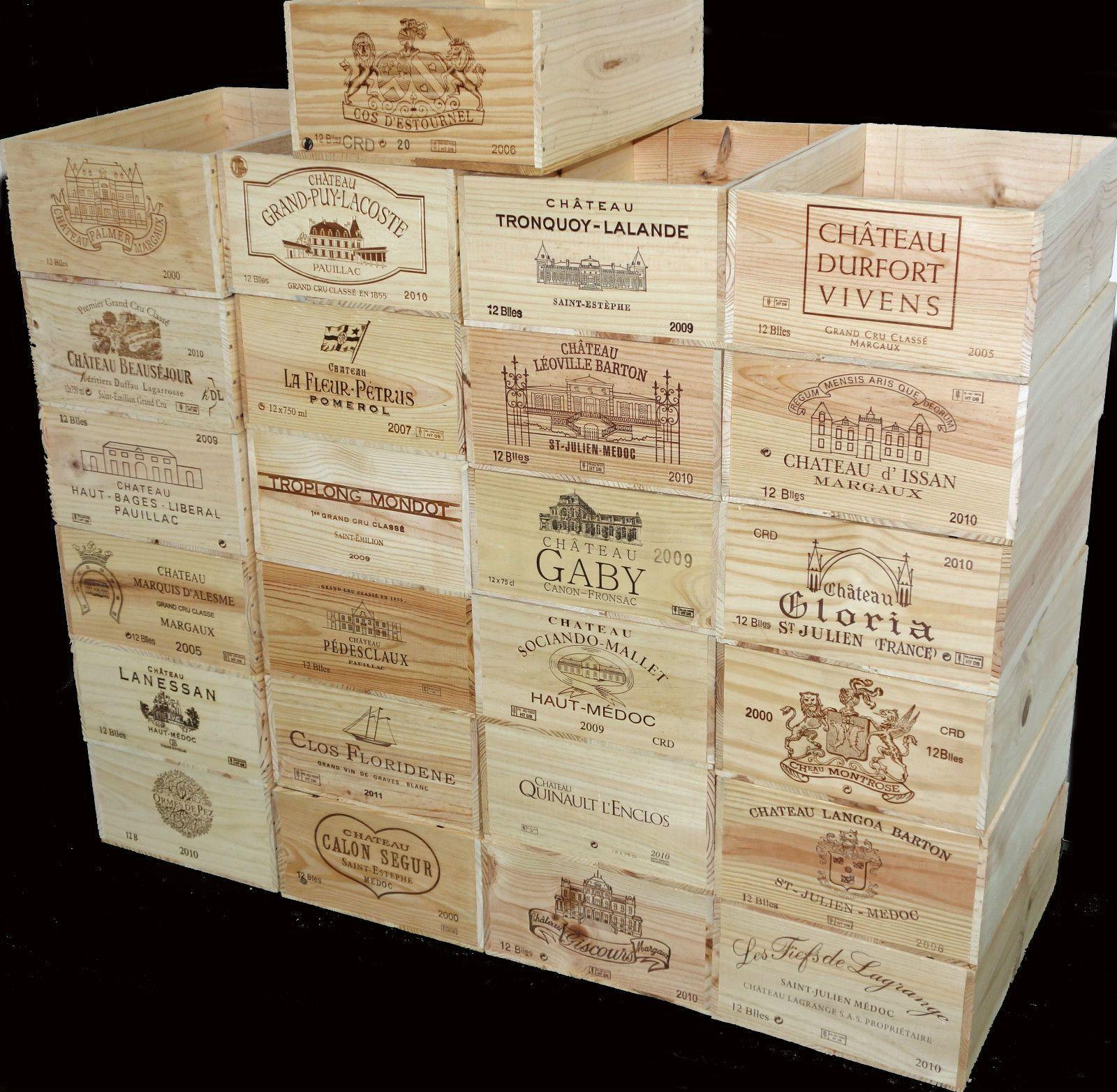 Wholesale Pallet For Sale: Wholesale Wooden Wine Crates