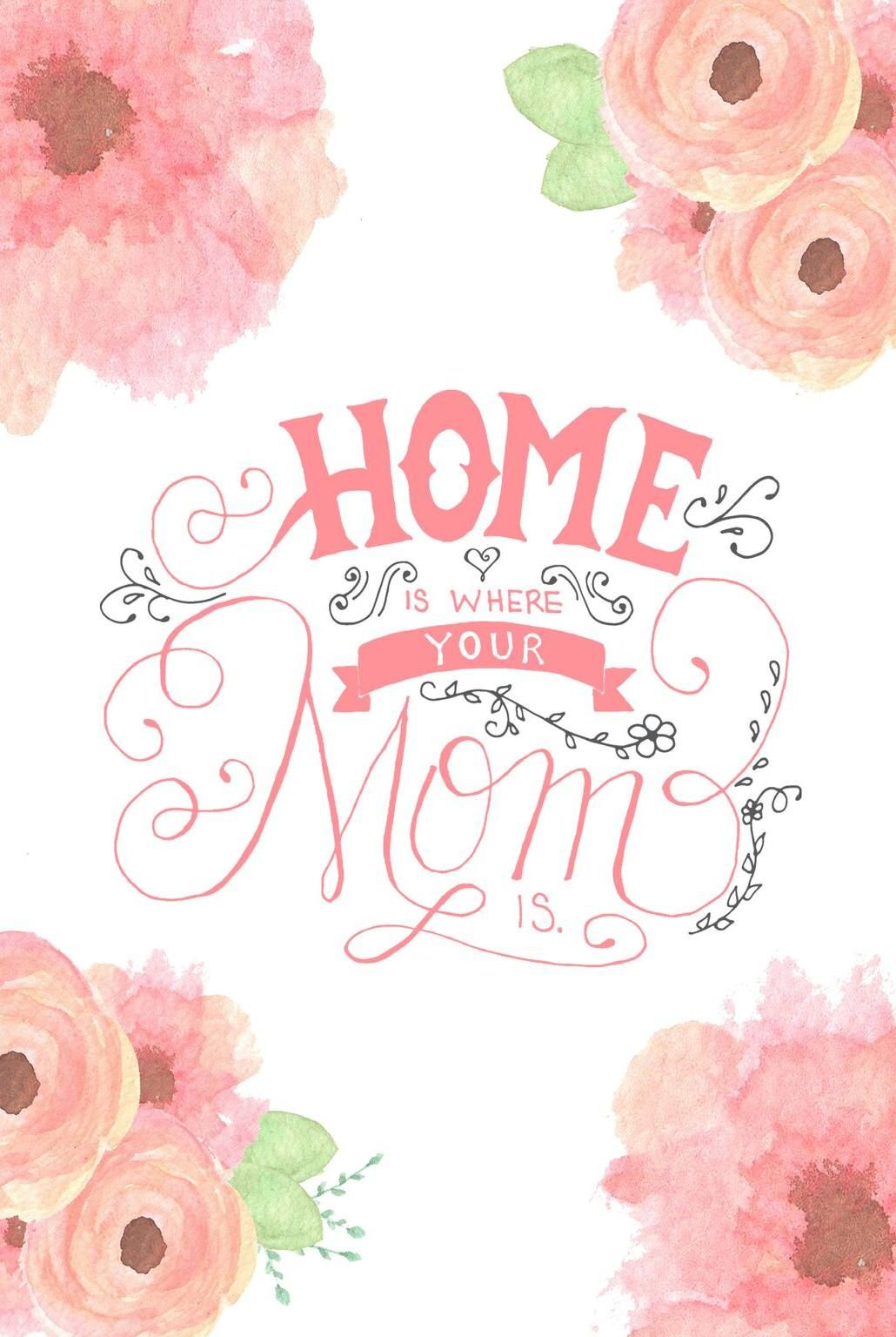A Floral Watercolor Mother S Day Card Mothers Day Card Template Mothers Day Cards Card Template