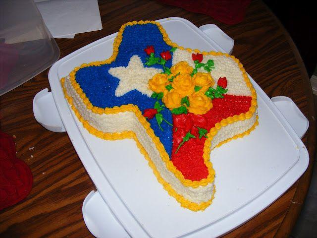 Astounding Yellow Rose Of Texas Texas Cake Texans Cake Cake Personalised Birthday Cards Veneteletsinfo