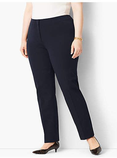 453dce8803 Plus Size Exclusive Refined Bi-Stretch Tailored Straight-Leg in 2018 ...