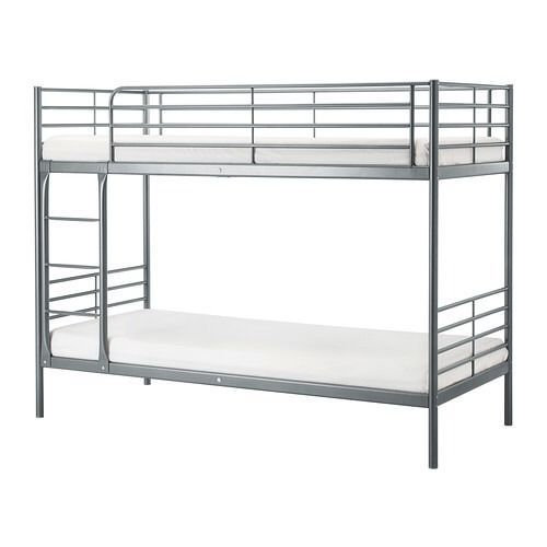 Ikea White Metal Bunk Beds