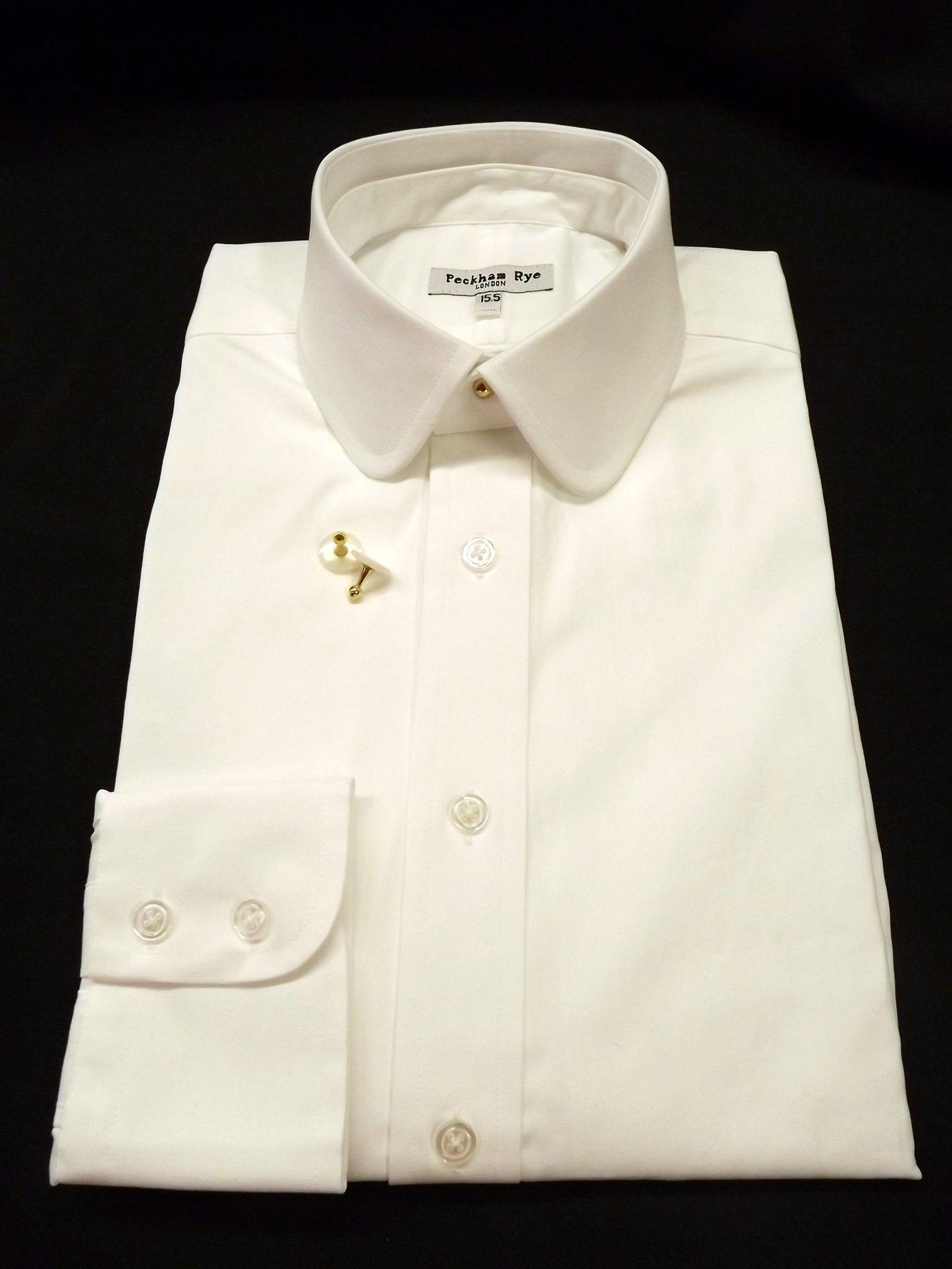 "15d5ec638e Peckham Rye ""Pogson"" Detachable Collar Shirt. All very smart"