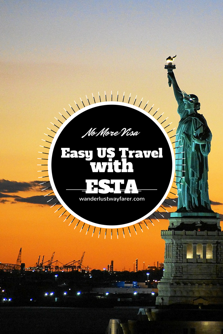 Travelers can enter the United States without a visa by completing an electronic system for travel authorization (ESTA) application.